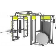 360XM Рама DHZ для функциональных тренировок. Габарит 5540х3580х2640