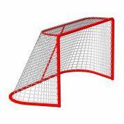 Сетка хоккей Д-3,5мм, яч. 40x40, цвет белый. Для ворот  1.25x1.85x1.30м. С повышенной светостабилиз